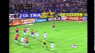 Chile vs Peru: Eliminatorias Francia 1998 (Completo)