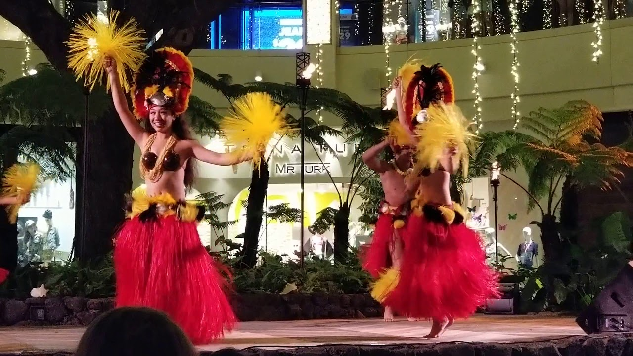 International Market Place 1968   Night hula show at the