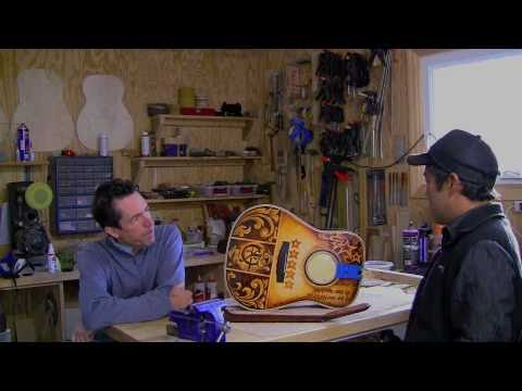 Mike Gossin's Lichty  Guitar - interview with Luthier Jay Lichty