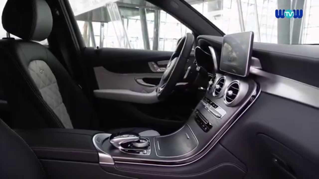 mercedes benz glc 350e 4matic interior design youtube