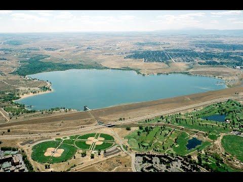 Drone Videos Colorado   Cherry Creek Lake and State Park, Aurora, Denver