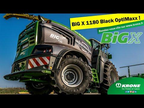 Nouvelle Ensileuse BiG 1180 Black OptiMaxx Edition Chez KRONE FRANCE !