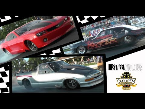 Street Outlaws Goad & Martin Vs. Larry Larson @ Keystone Raceway Park- July 1st, 2017