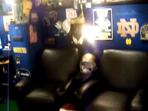 Football Man Cave Room