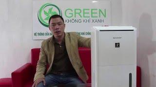 Video Giới thiệu Máy lọc không khí hút ẩm Sharp DW-D12A-W