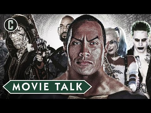 Suicide Squad 2 May Introduce Black Adam - Movie Talk