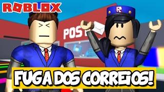 A FUGA DOS CORREIOS! - Roblox (Escape the Evil Mail Man)