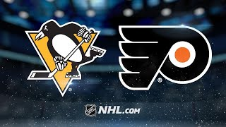 Pens score four unanswered in 5-1 win against Flyers