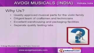 Violin and Viola Parts by Avogi Musicals (India), Kolkata
