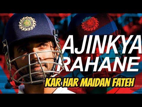 Kar Har Maidan Fateh ft.Ajinkya Rahane | kar har maidan fateh Ajinkya rahane version