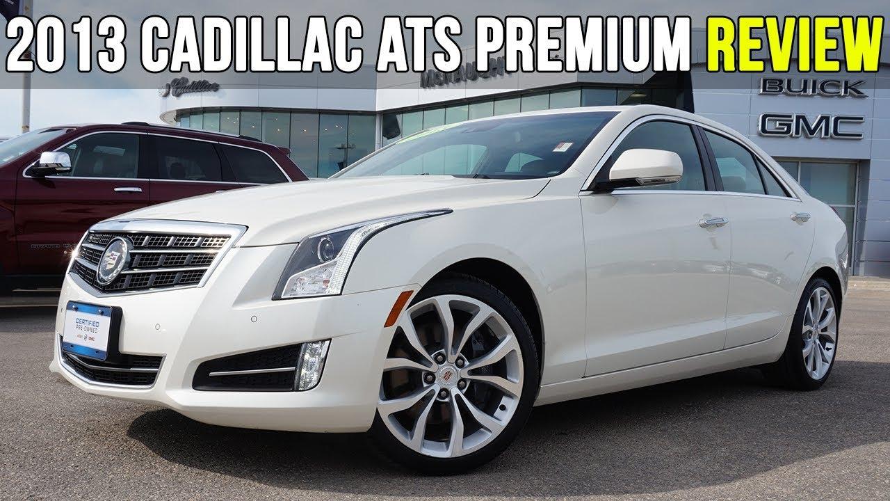 2013 Cadillac Ats Premium Luxury 3 6l Caramel Tan Interior In