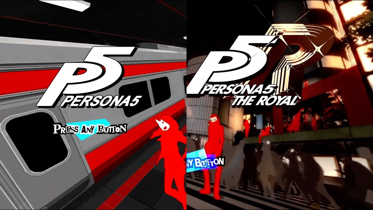 Persona 5 The Royal Main Menu Comparison Youtube Submitted 2 years ago by hattymikune. persona 5 the royal main menu comparison