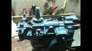 Yamaha 9.9-15hp ремонт мотора