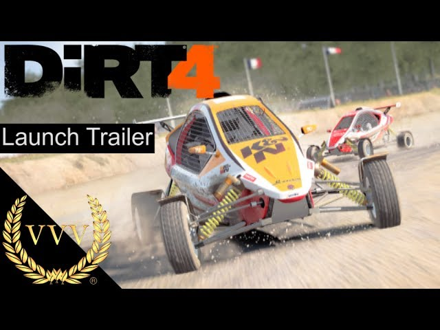 DiRT 4 Launch Trailer