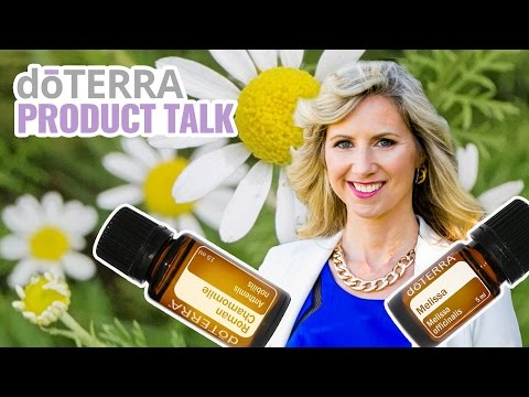 roman-chamomile-&-melissa-essential-oil---doterra-empowered-living