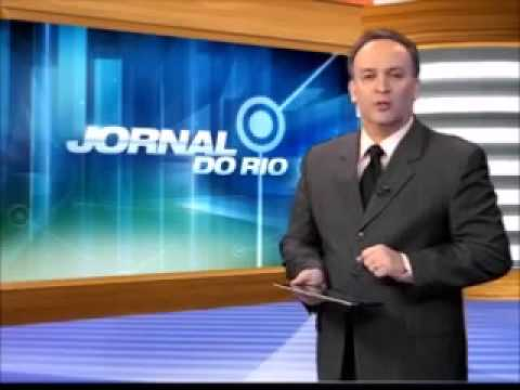 """Problemas técnicos durante o """"Jornal do Rio"""" - 16/1/2014"""