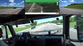 April 19, 2019/338 Trucking Loaded Dallas To Rockwall Texas