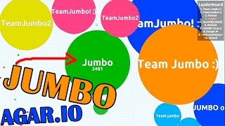 Everyone is JUMBO - Agar.io Random Gameplays