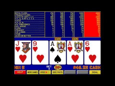 Video Poker Part 3 - Double Double Bonus