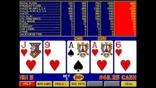 Video Poker Part 3 - Double Double Bonus