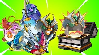 COSMIC CAPTN Class Upgrade Chest!! - Angry Birds Epic