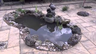 Small Patio Pond Construction Near Newcastle
