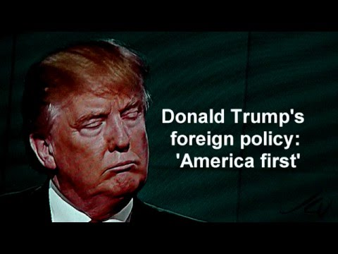 Image result for Trump's America First Foreign Policy