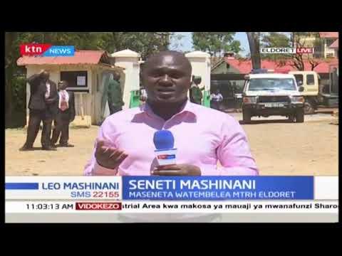 Maseneta watembelea MTRH Eldoret