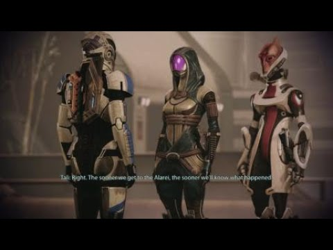 Mass Effect 2 Legendary Edition Tali's trial Shepard thinks the Admiralty board is out of line |