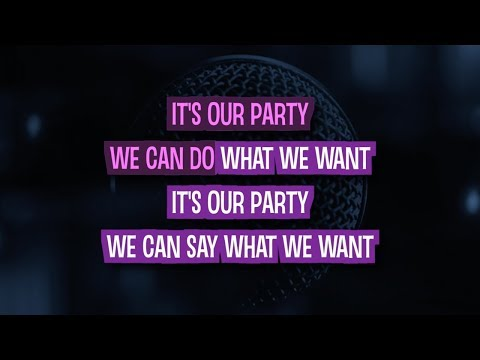 We Can't Stop Karaoke Version by Miley Cyrus (Video with Lyrics)
