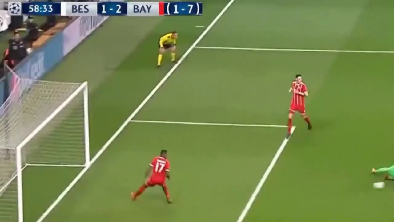 Download All Goals & highlights   Besiktas 1 - 3 Bayern Munich  14 03 2018