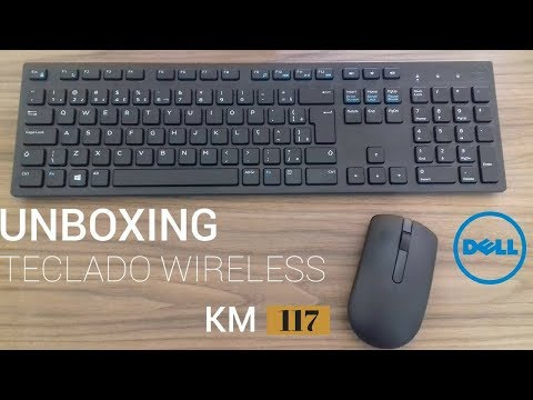 Dell Km117 Unboxing And Overview(bluetooth Keybord And Mouse)