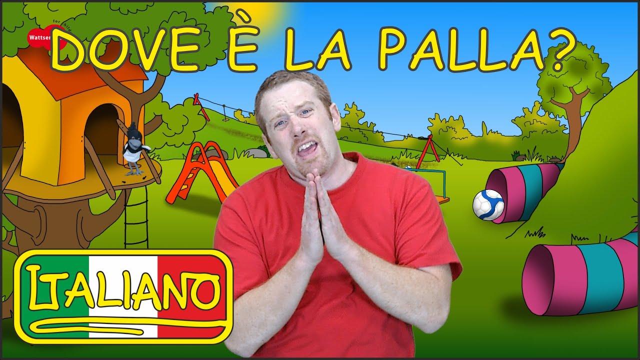 Download Dov'è la Palla?   Canzoni per Bambini   Italiano per Bambini   Steve and Maggie Italiano