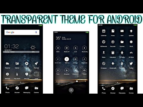 Transparent Theme For Android 2017