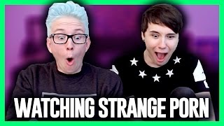 Watching Strange Porn??? (ft. Dan Howell) | Tyler Oakley
