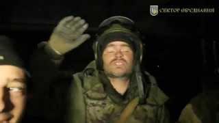 Ополченец ДНР : здесь все Донецкие, Россиян вообще нема... Война в Украине.