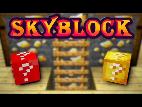 Solo Hypixel SkyBlock [141] Getting Lucky Blocks Onto My Island