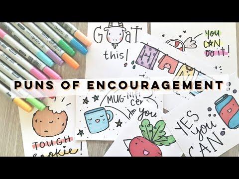Puns Of Encouragement! | Doodles By Sarah