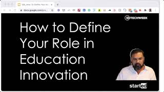 How to Define Your Role in Education Innovation with Ash Kaluarachchi