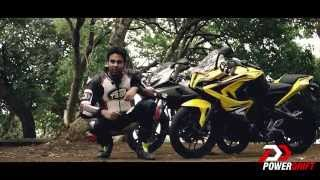 Bajaj Pulsar RS 200 vs Pulsar 220 DTSI - The New Fastest Indian | PowerDrift