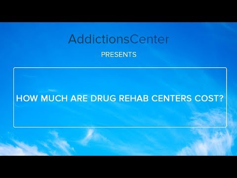 How Much Do Drug Rehab Centers Cost -  Call 1 (800) 615-1067