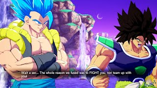 Dragon Ball FighterZ - All Broly (DBS) Unique Dialogue Interactions  & More【60FPS 1080P】