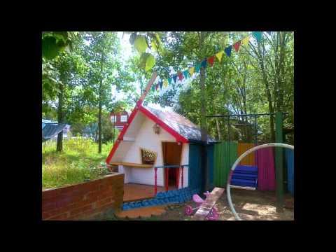 Домик для детской площадки на дачу смотреть в хорошем качестве