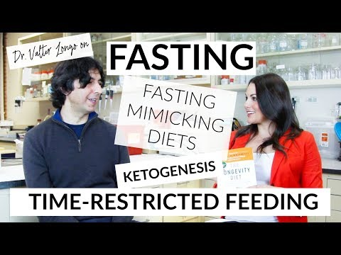 Dr. Valter Longo Interview On Fasting + Low-Protein Diets