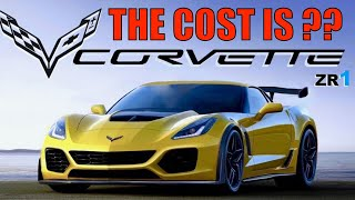 🔴 Unbelievable that GM is going to Charge this much for 2019 Corvette ZR1!!!