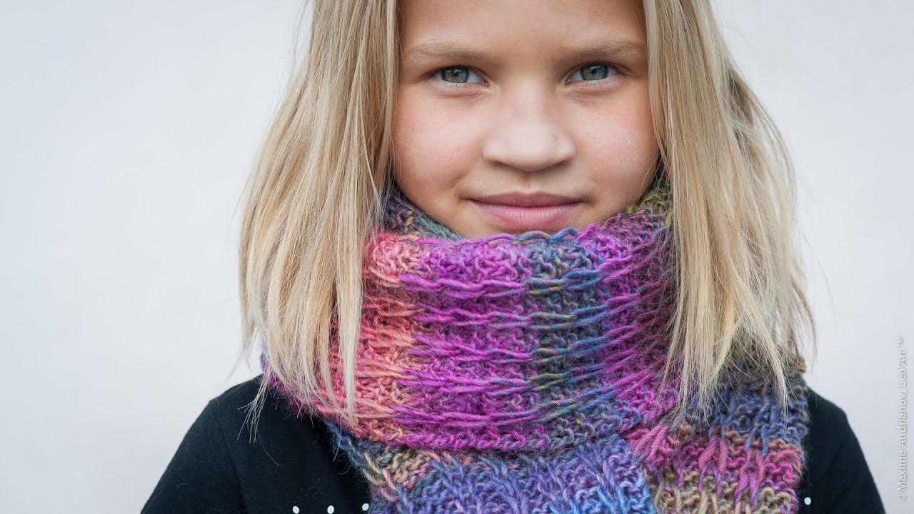 Tuto tricot charpe mailles gliss es youtube - Combien de pelote pour une echarpe ...