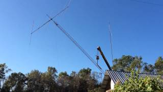 Hygain TH6 DX Antenna going up!