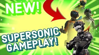 SUPERSONIC Skin Gameplay In Fortnite Battle Royale