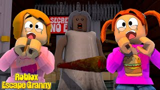 Roblox Escape Granny With Molly And Daisy! - Roleplay