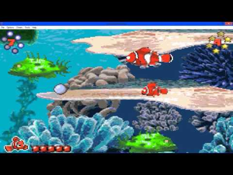 Finding Nemo Advance Gameplay